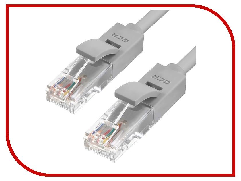 Аксессуар Greenconnect UTP 24AWG cat.5e RJ45 T568B 0.7m Grey GCR-LNC03-0.7m
