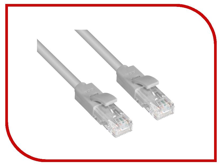Аксессуар Greenconnect UTP 24AWG cat.5e RJ45 T568B 0.9m Grey GCR-LNC03-0.9m