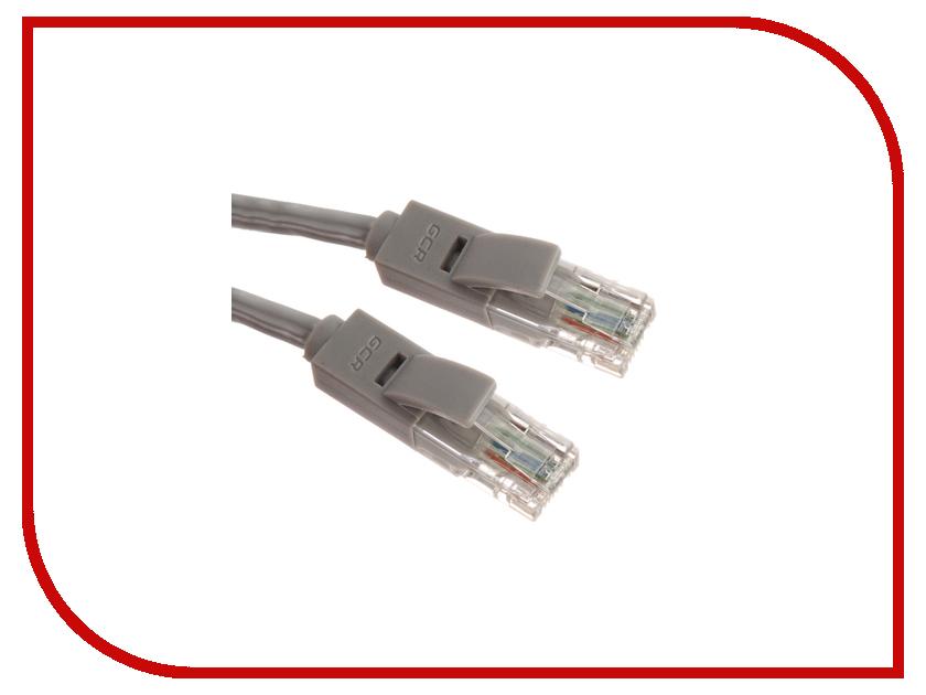 Аксессуар Greenconnect UTP 24AWG 5e RJ45 T568B 1.8m Grey GCR-LNC03-1.8m