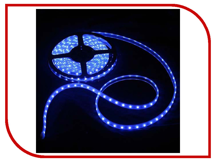 Светодиодная лента Crixled CRS SMD5050-300-B-WR-12B 60 LED/m IP65 NN 5m Blue<br>