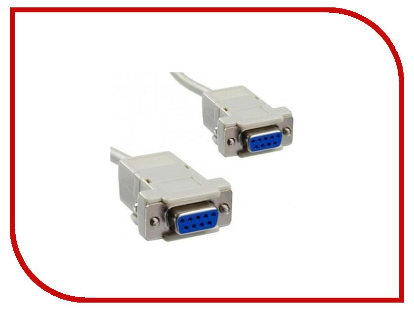 Аксессуар Greenconnect Premium COM RS-232 9F/9F 1.8m Grey GCR-DB9CF2F-1.8m<br>
