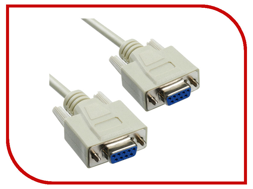Аксессуар Greenconnect Premium COM RS-232 9M/9M 1.8m Grey GCR-DB9CM2M-1.8m