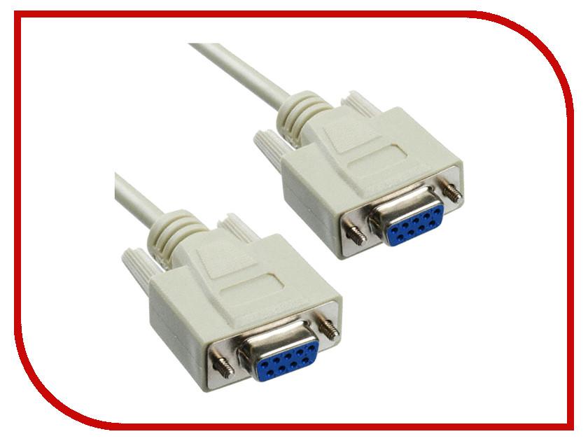 Аксессуар Greenconnect Premium COM RS-232 9M/9M 3.0m Grey GCR-DB9CM2M-3m<br>