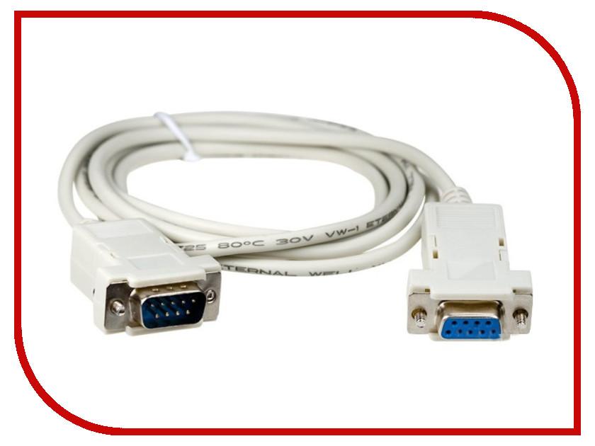 Аксессуар Greenconnect Premium COM RS-232 9M/9F 5.0m Grey GCR-DB9CM2F-5m
