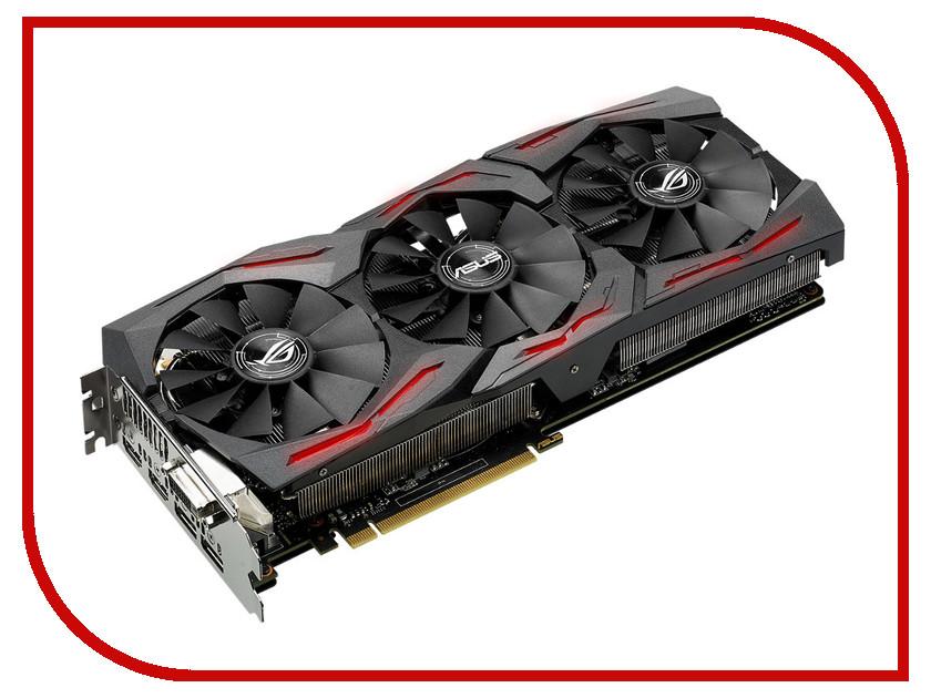 ���������� ASUS ROG Radeon RX 480 1310Mhz PCI-E 3.0 8192Mb 8000Mhz 256 bit DVI HDMI HDCP STRIX-RX480-O8G-GAMING
