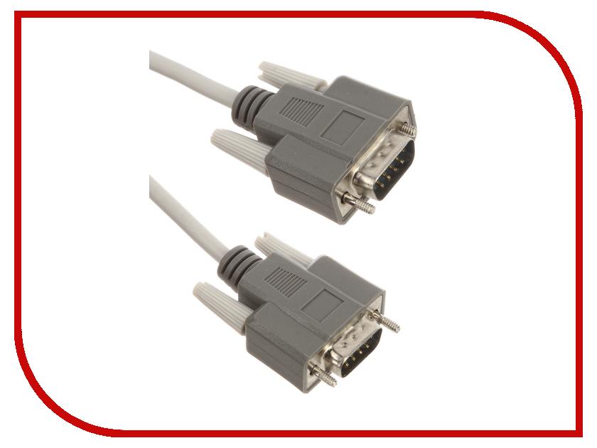 Аксессуар Greenconnect COM DB9/DB9 9M/9M 3m Grey GCR-DB902-3m<br>
