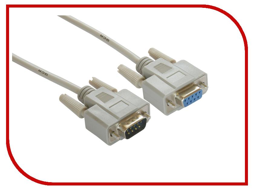 Аксессуар Greenconnect COM DB9/DB9 9M/9F 1.8m Grey GCR-DB903-1.8m