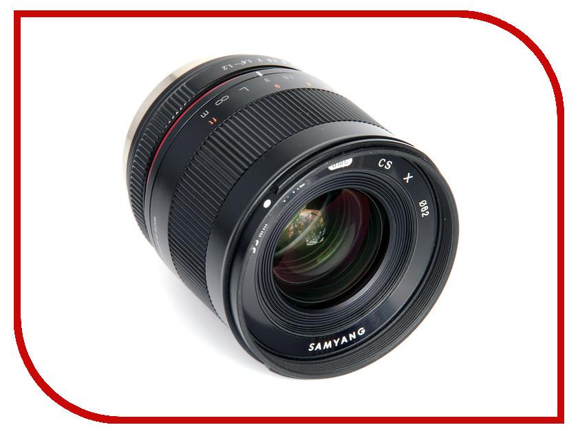 Объектив Samyang Sony E 35 mm F/1.2 ED AS UMC CS объектив samyang 21mm t1 5 ed as umc cs cine sony e
