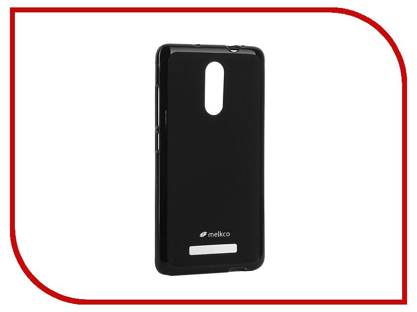 Аксессуар Чехол Xiaomi Redmi Note 3 Melkco Black 10202