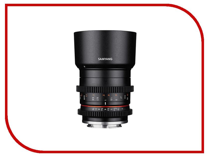 Объектив Samyang Sony E 35 mm T1.3 ED AS UMC CS объектив samyang sony e nex 50 mm f 1 2 as umc cs
