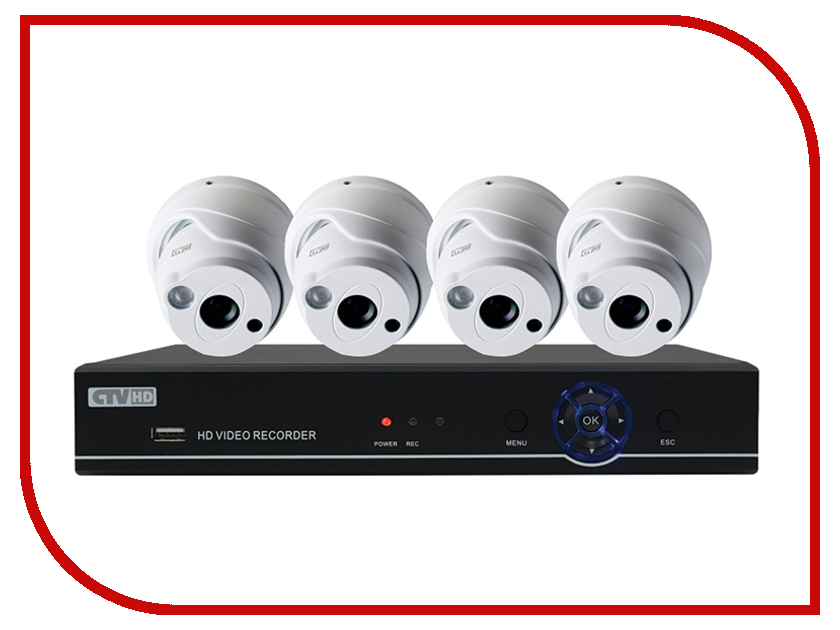 Видеонаблюдение CTV CTV-HDD741A KIT