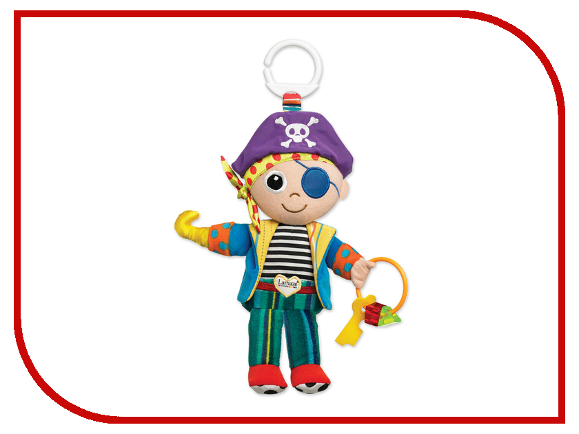 Игрушка Tomy Lamaze Пират Пит ТО27562 / LC27562