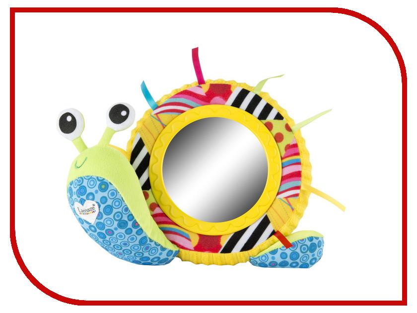 Игрушка Tomy Lamaze Улитка Мишель с зеркальцем ТО27168 / LC27168 tomy игрушка с присоской на стульчике веселые утята tomy lamaze