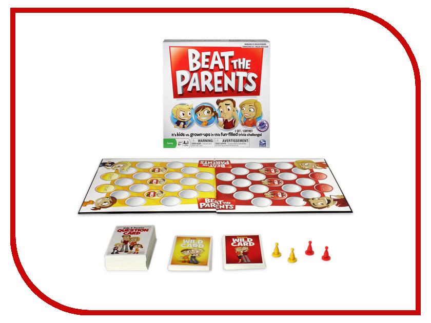 Настольная игра Spin Master Обыграй родителей 34512