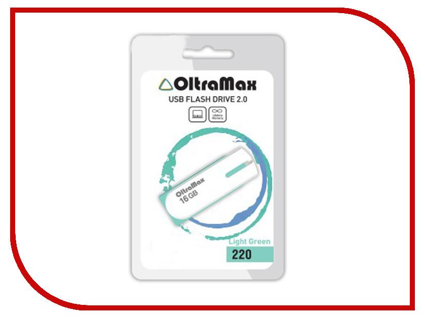 USB Flash Drive 64Gb - OltraMax 220 Light Green OM-64GB-220-Light Green