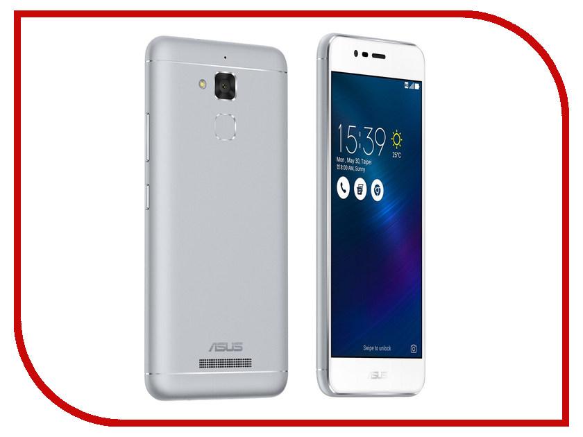 Сотовый телефон ASUS ZenFone 3 Max ZC520TL 16Gb Silver привод asus sdrw 08u7m u silver