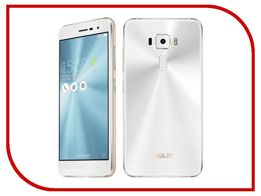 Сотовый телефон ASUS ZenFone 3 ZE520KL 32Gb White сотовый телефон asus zenfone 3 max zc553kl 32gb silver