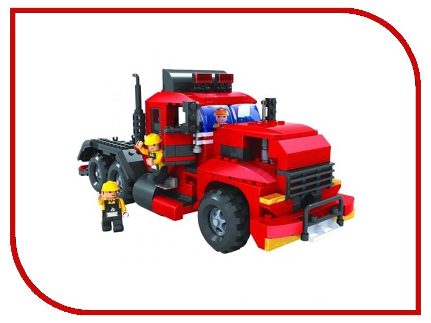 Подробнее о Игрушка Конструктор 1Toy Строительная техника, трак 430 дет. Т57036 строительная техника