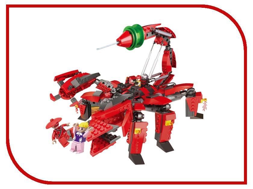 Игрушка Конструктор 1Toy Робосамураи, робот-скорпион 516 дет. Т57019<br>