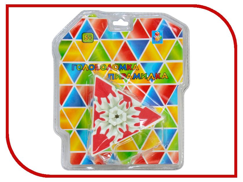 Головоломка 1Toy Пирамидка 3D Т57364