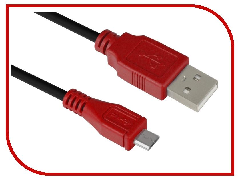 Аксессуар Greenconnect USB 2.0 AM-Micro B 5pin 0.30m Black-Red GCR-UA6MCB1-BB2S-0.3m аксессуар greenconnect micro usb 2 0 am micro b 5pin 0 3m black gcr ua8amcb6 bb2s g 0 3m