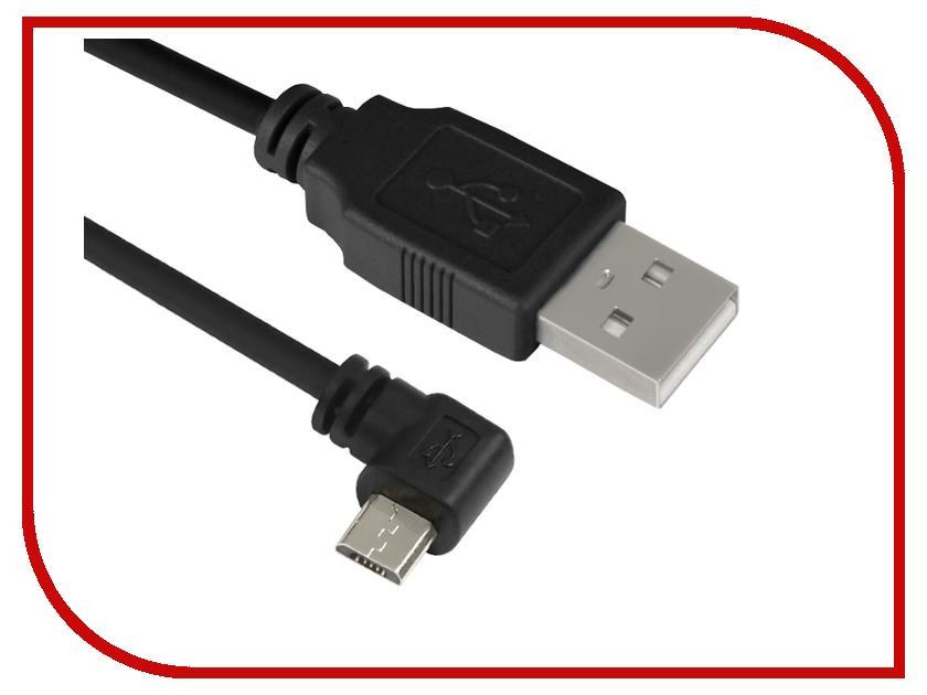 Аксессуар Greenconnect USB 2.0 AM-Micro B 5pin 0.50m Black GCR-UA4MCB1-BB2S-0.5m<br>