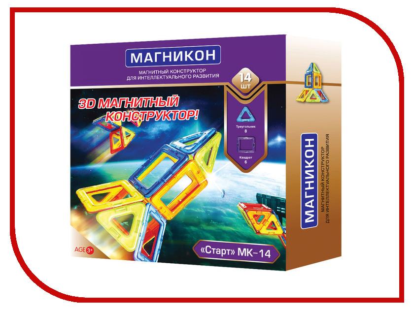 Игрушка Конструктор Магникон Новичок МК-14 Старт<br>