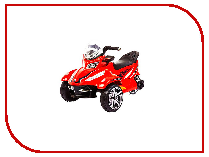 Электромобиль 1Toy Трицикл Red Т58706