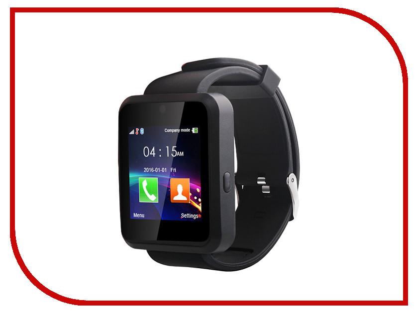 Умные часы Ecdream S6 Black часы умные белые