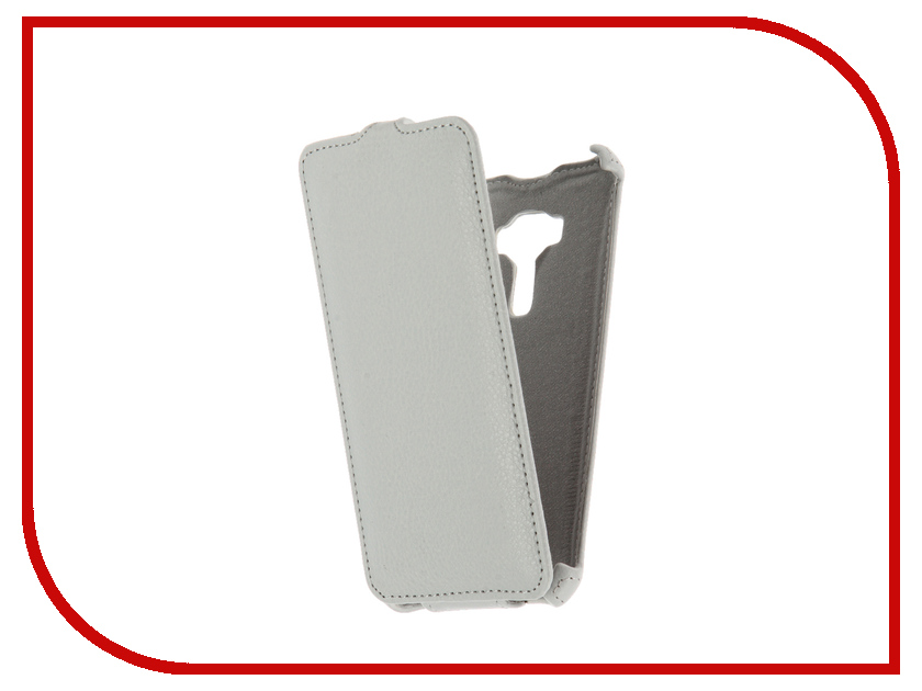 Аксессуар Чехол ASUS ZenFone 3 ZE520KL Gecko White GG-F-ASZE520KL-WH аксессуар чехол sony xperia z5 compact gecko white gg f sonz5c wh