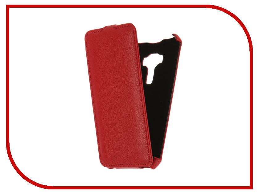 Аксессуар Чехол ASUS ZenFone 3 ZE520KL Gecko Red GG-F-ASZE520KL-RED<br>