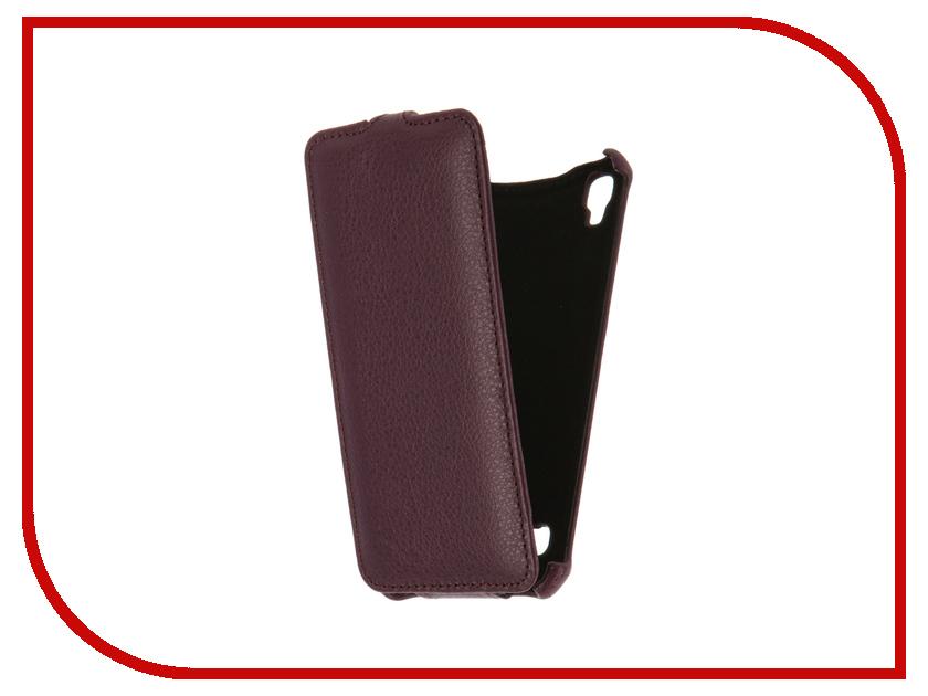 Аксессуар Чехол LG X Style Gecko Violet GG-F-LGXSTYLE-VIO<br>