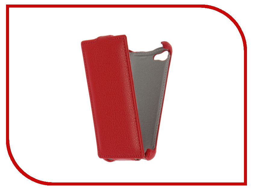 Аксессуар Чехол Sony Xperia Z5 Compact Gecko Red GG-F-SONZ5C-RED<br>