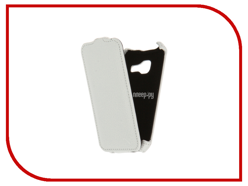 Аксессуар Чехол Samsung Galaxy J1 mini 2016 SM-J105H/DS Zibelino Classico White ZCL-SAM-J1MINI-2016-WHT аксессуар чехол samsung galaxy j3 2016 sm j320f zibelino classico black zcl sam j3 2016 blk