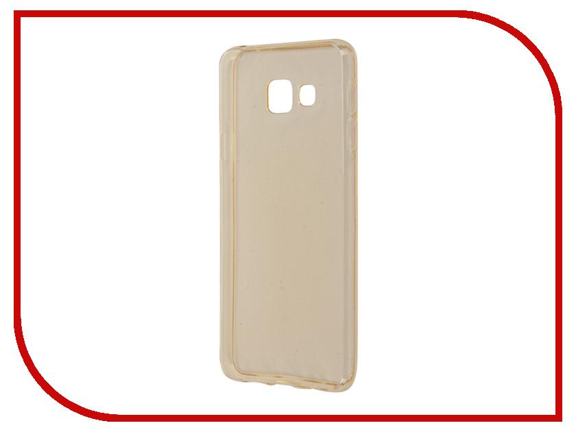 Аксессуар Чехол Samsung Galaxy A3 A310 2016 Zibelino Ultra Thin Case Gold ZUTC-SAM-A3-2016-GLD<br>