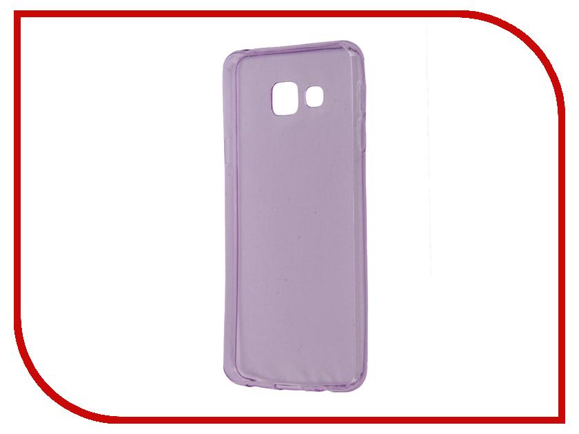 Аксессуар Чехол Samsung Galaxy A3 A310 2016 Zibelino Ultra Thin Case Purple ZUTC-SAM-A3-2016-PUR<br>