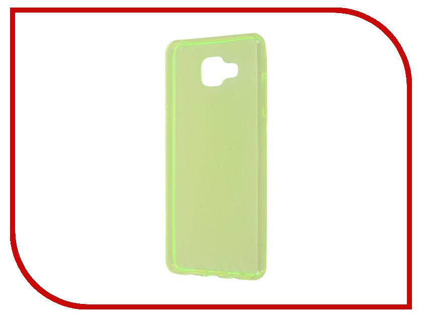 Аксессуар Чехол Samsung Galaxy A5 A510 2016 Zibelino Ultra Thin Case Green ZUTC-SAM-A5-2016-GRN<br>