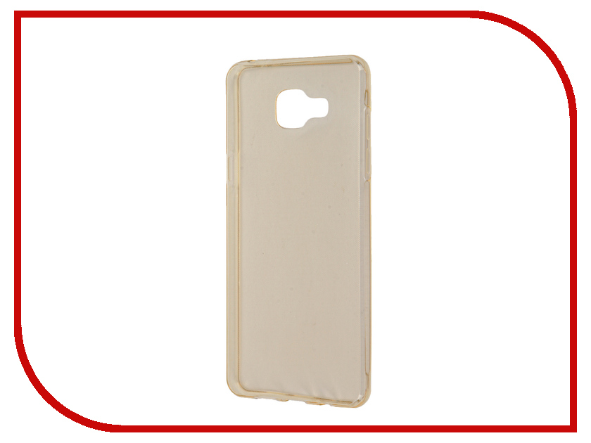 Аксессуар Чехол Samsung Galaxy A5 A510 2016 Zibelino Ultra Thin Case Gold ZUTC-SAM-A5-2016-GLD<br>