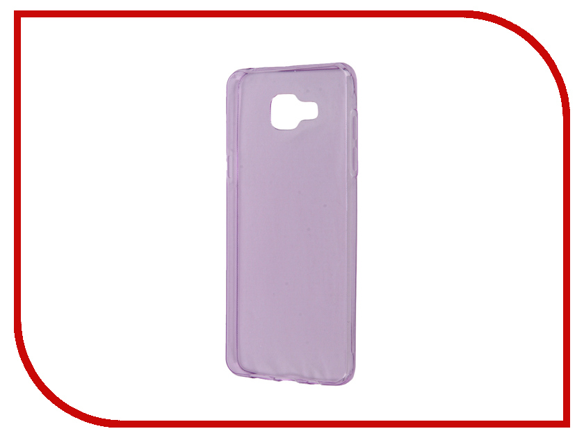 Аксессуар Чехол Samsung Galaxy A5 A510 2016 Zibelino Ultra Thin Case Purple ZUTC-SAM-A5-2016-PUR<br>