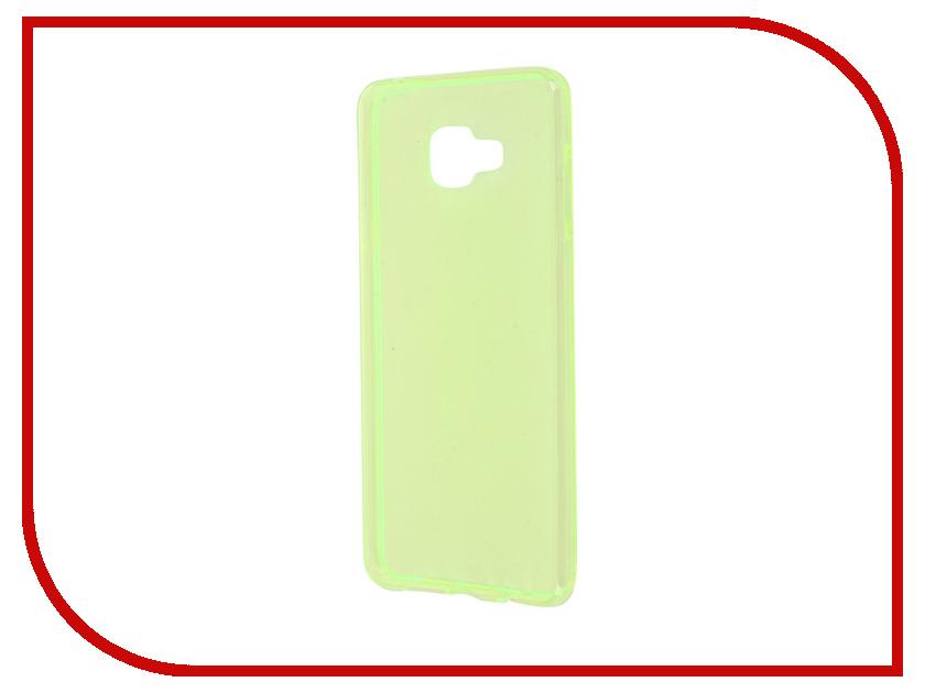 Аксессуар Чехол Samsung Galaxy A7 A710 2016 Zibelino Ultra Thin Case Green ZUTC-SAM-A7-2016-GRN<br>