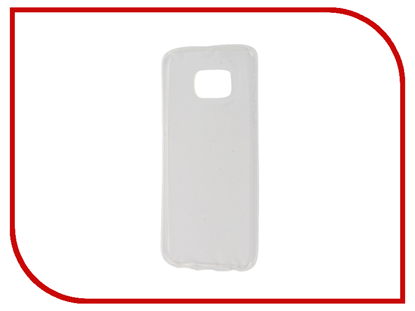 Аксессуар Чехол Samsung Galaxy S6 Edge Zibelino Ultra Thin Case White ZUTC-SAM-S6-EDG-WHT<br>