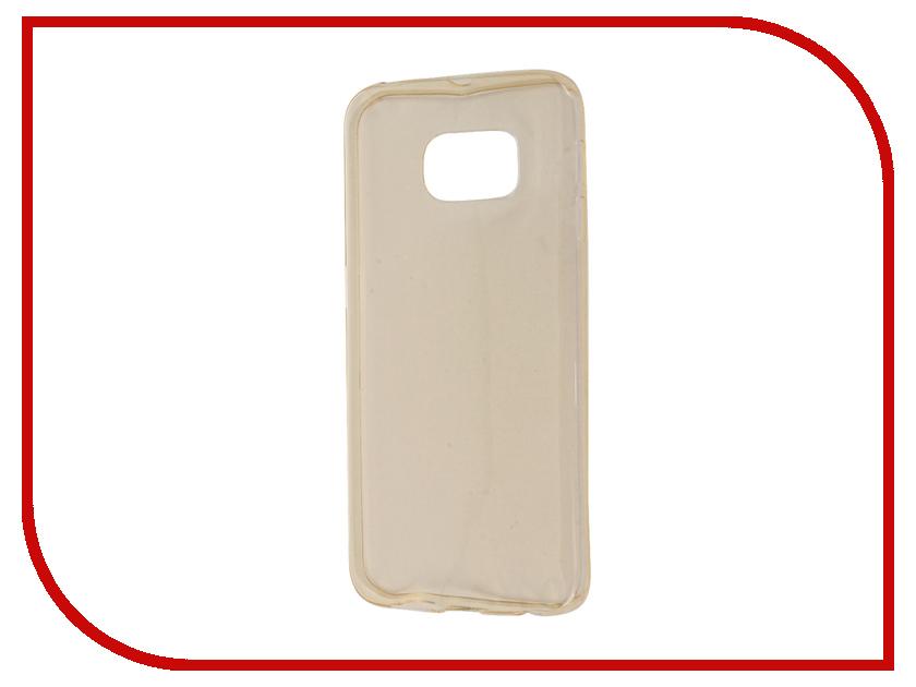 Аксессуар Чехол Samsung Galaxy S6 Edge Zibelino Ultra Thin Case Gold ZUTC-SAM-S6-EDG-GLD<br>