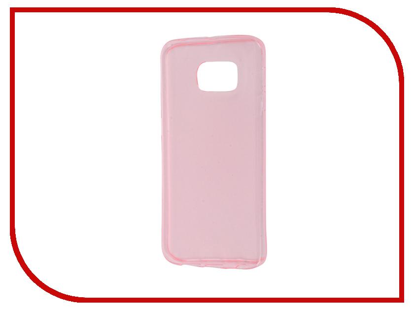 Аксессуар Чехол Samsung Galaxy S6 Edge Zibelino Ultra Thin Case Pink ZUTC-SAM-S6-EDG-PNK<br>