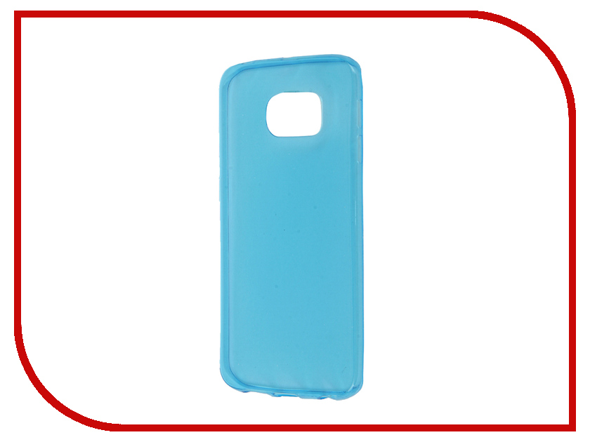 Аксессуар Чехол Samsung Galaxy S6 Edge Zibelino Ultra Thin Case Blue ZUTC-SAM-S6-EDG-BLU<br>