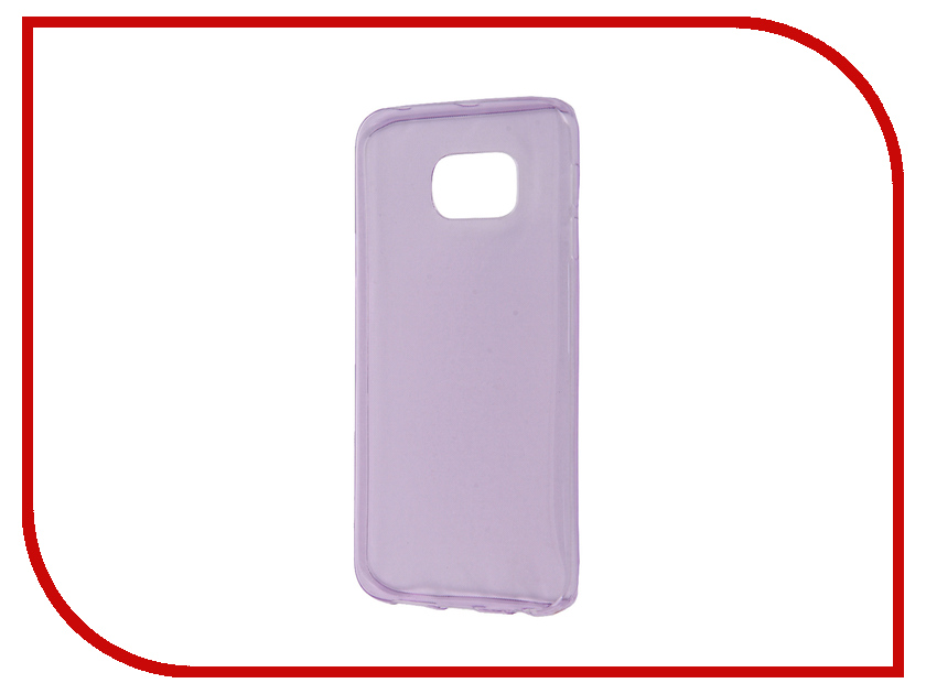 Аксессуар Чехол Samsung Galaxy S6 Edge Zibelino Ultra Thin Case Purple ZUTC-SAM-S6-EDG-PUR<br>