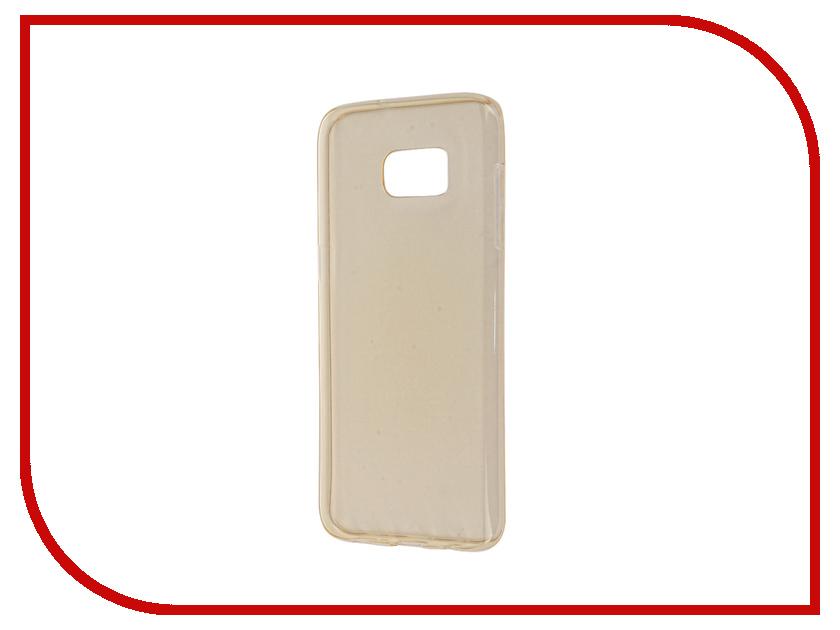 Аксессуар Чехол Samsung Galaxy S7 Edge Zibelino Ultra Thin Case Gold ZUTC-SAM-S7-EDG-GLD<br>