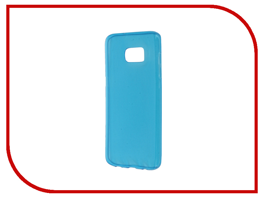 Аксессуар Чехол Samsung Galaxy S7 Edge Zibelino Ultra Thin Case Blue ZUTC-SAM-S7-EDG-BLU<br>