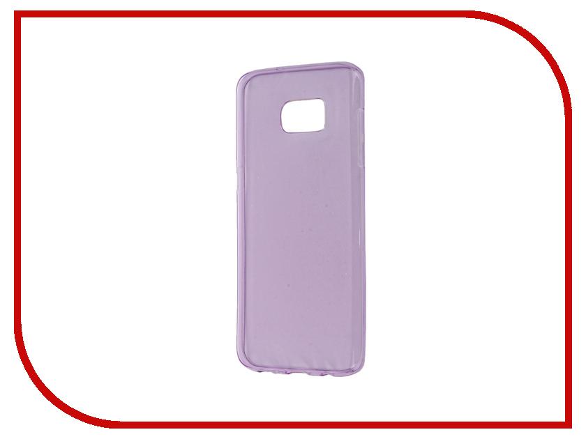 Аксессуар Чехол Samsung Galaxy S7 Edge Zibelino Ultra Thin Case Purple ZUTC-SAM-S7-EDG-PUR<br>