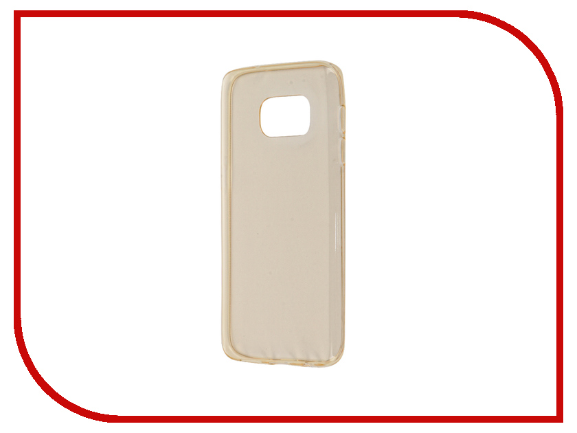 Аксессуар Чехол Samsung Galaxy S7 Zibelino Ultra Thin Case Gold ZUTC-SAM-S7-GLD<br>