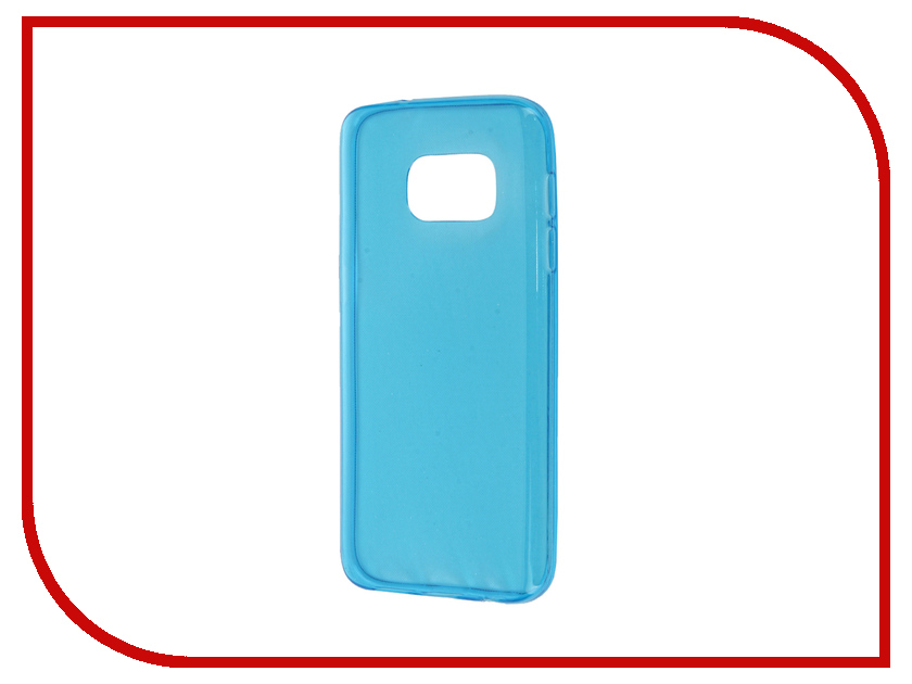 Аксессуар Чехол Samsung Galaxy S7 Zibelino Ultra Thin Case Blue ZUTC-SAM-S7-BLU<br>
